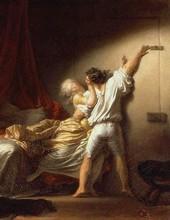 Jean Honore Fragonard Le Verrou 1778