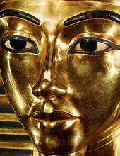 Toutankhamon - Masque mortuaire (environ 1336-1327 avant J.-C.)
