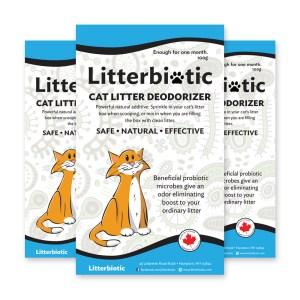 Three Month Supply of Litterbiotic