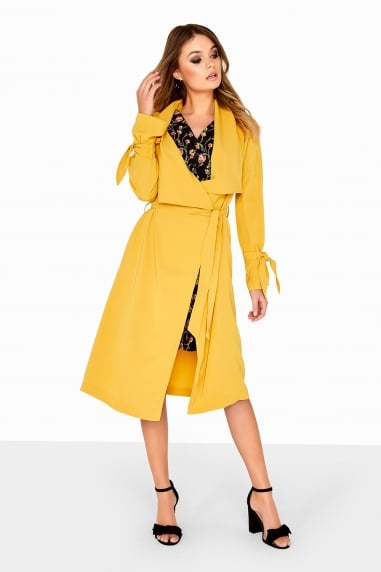 Yellow Wrap Jacket