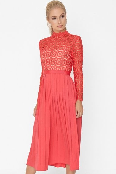 Coral Dress For Wedding Guest 7