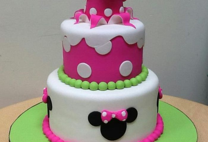 Minnie Mouse Cakes Decoration Ideas Little Birthday Cakes