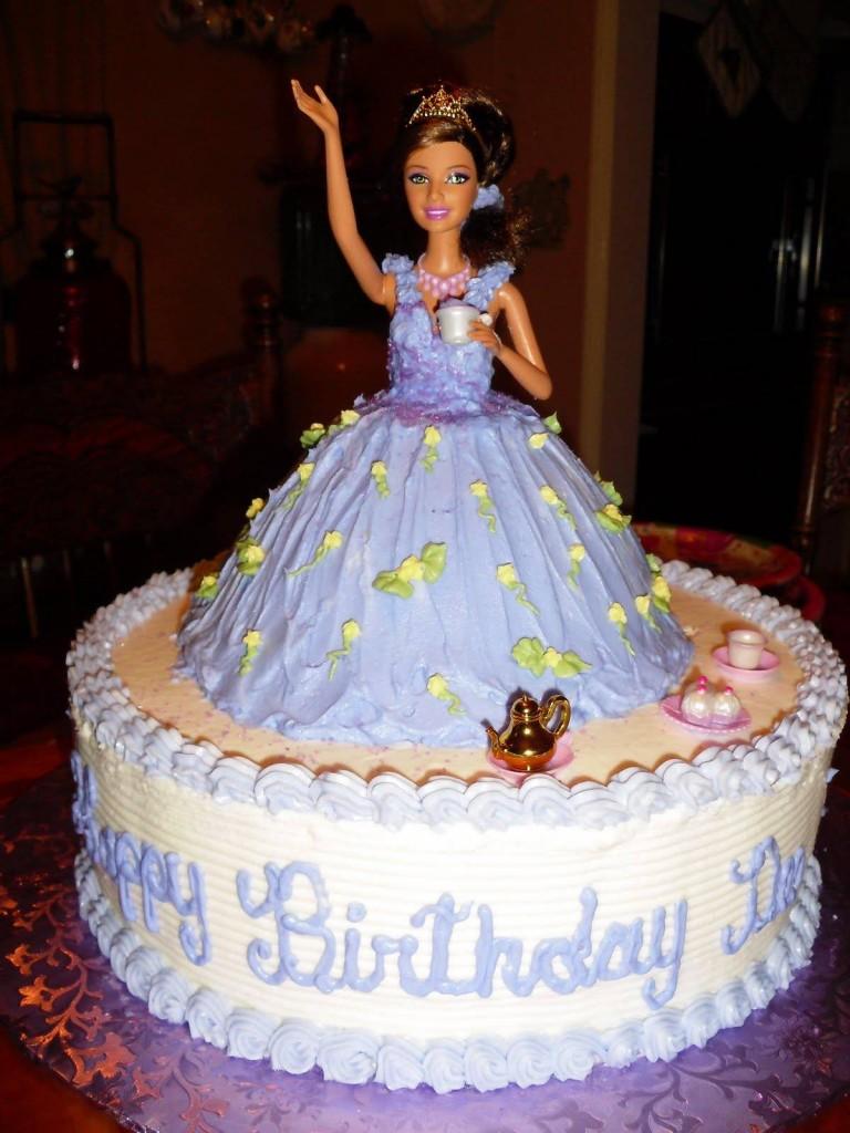 Barbie Cakes Decoration Ideas Little Birthday Cakes