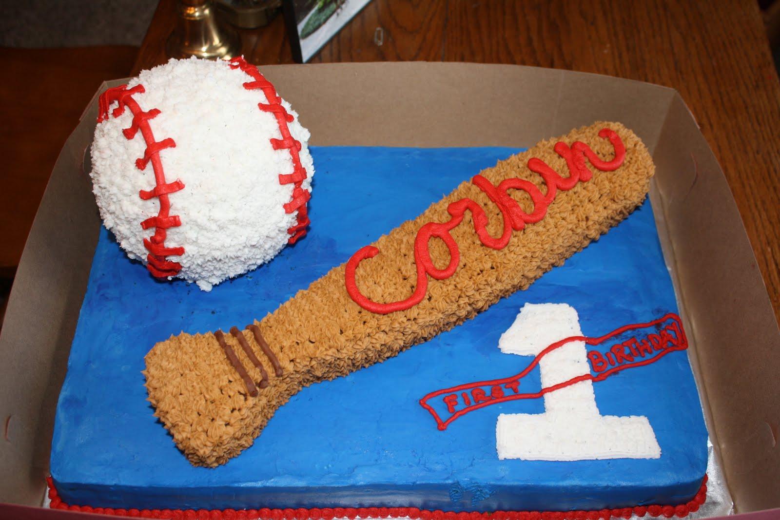 Baseball Cakes Decoration Ideas