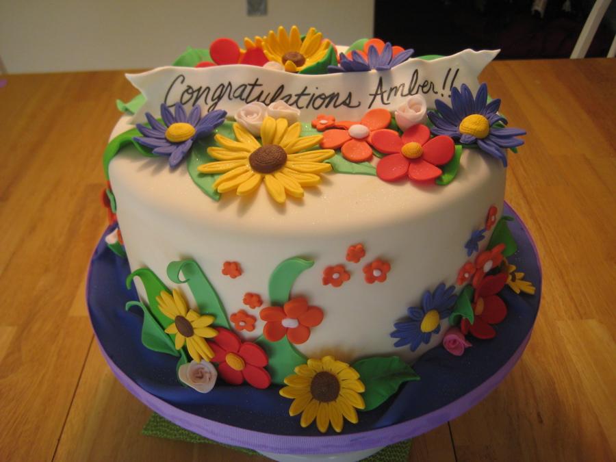 Flower Cake Decorations
