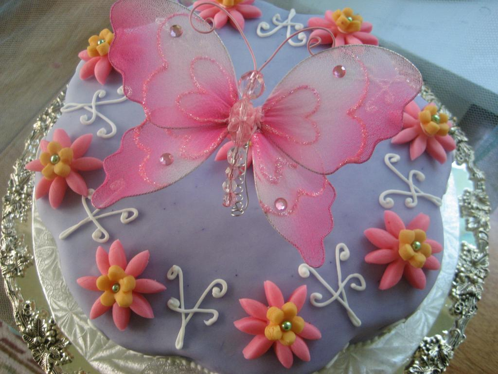 Butterfly Cakes     Decoration Ideas   Little Birthday Cakes Butterfly Birthday Cakes
