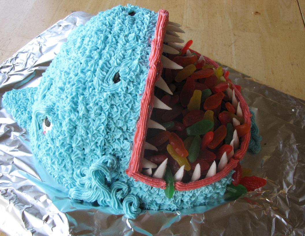 Shark Cakes Decoration Ideas