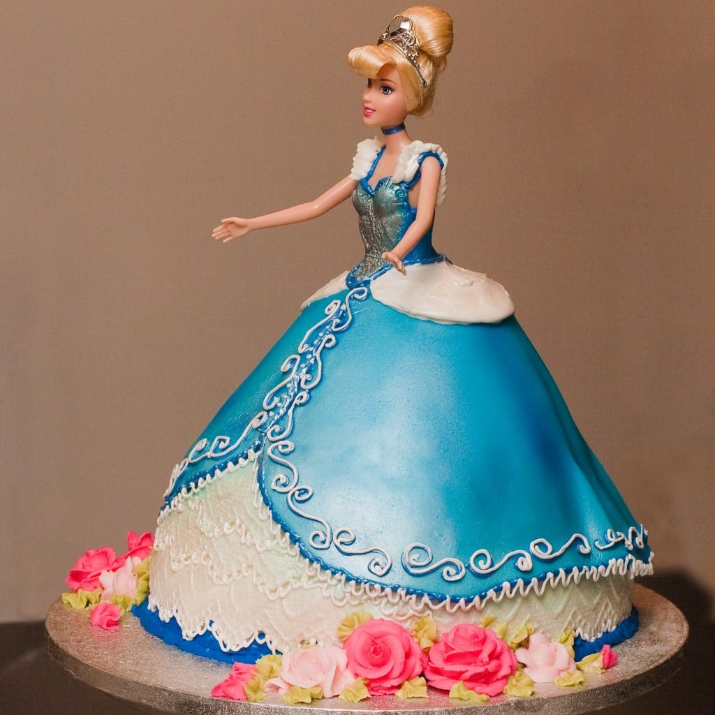 Cinderella Cakes Decoration Ideas