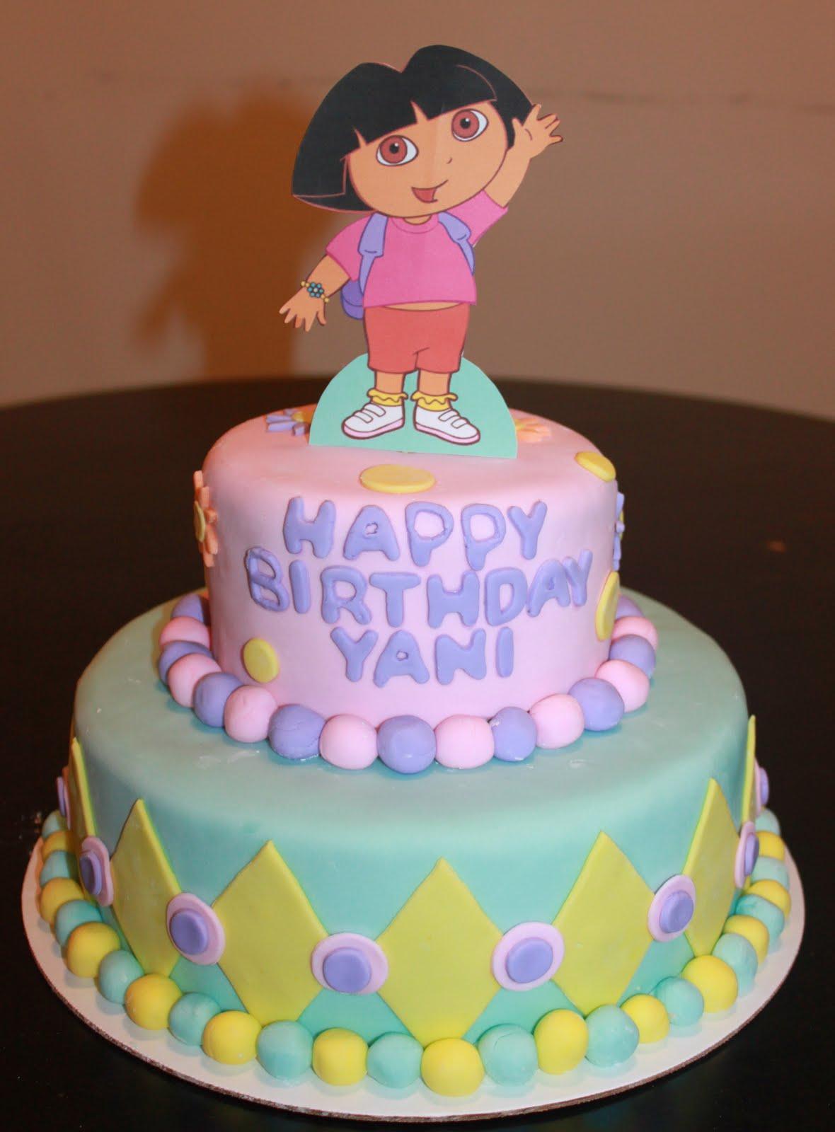 Dora Cakes Decoration Ideas