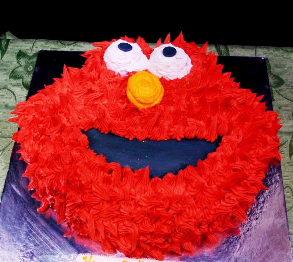 Elmo Cakes Decoration Ideas
