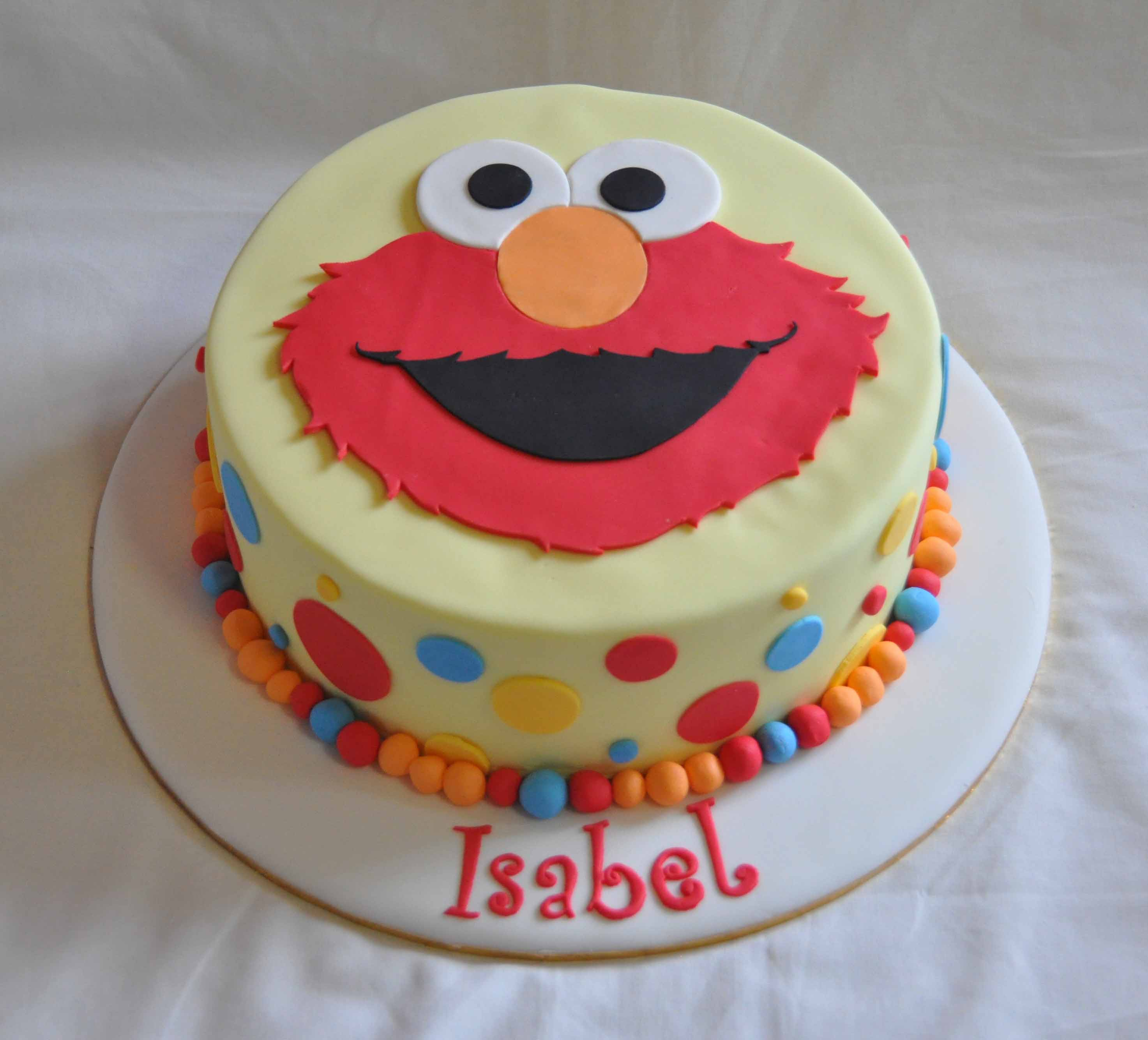 Elmo Cakes Decoration Ideas