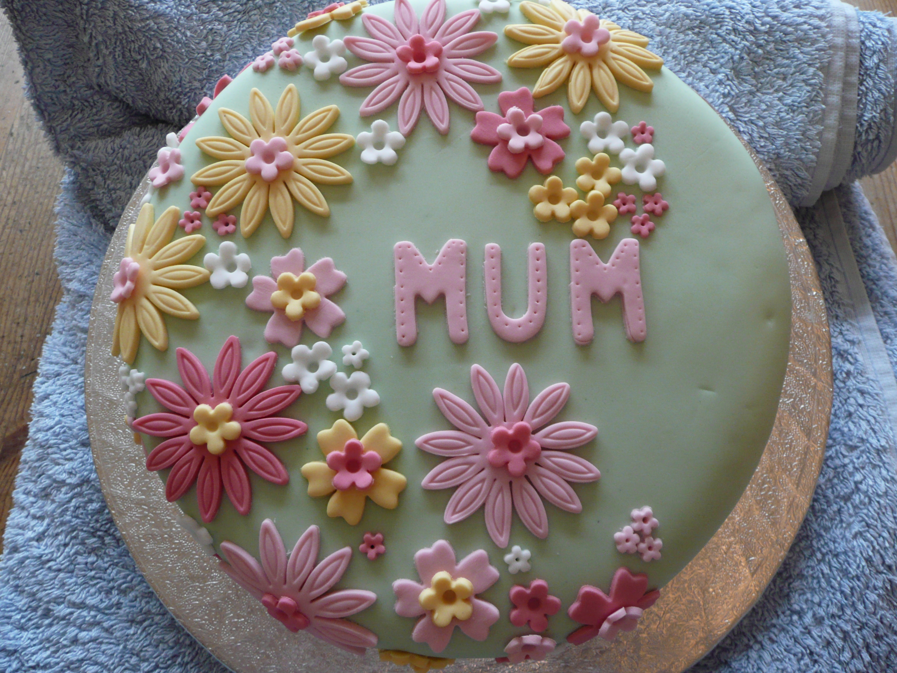 Flower Cakes Decoration Ideas