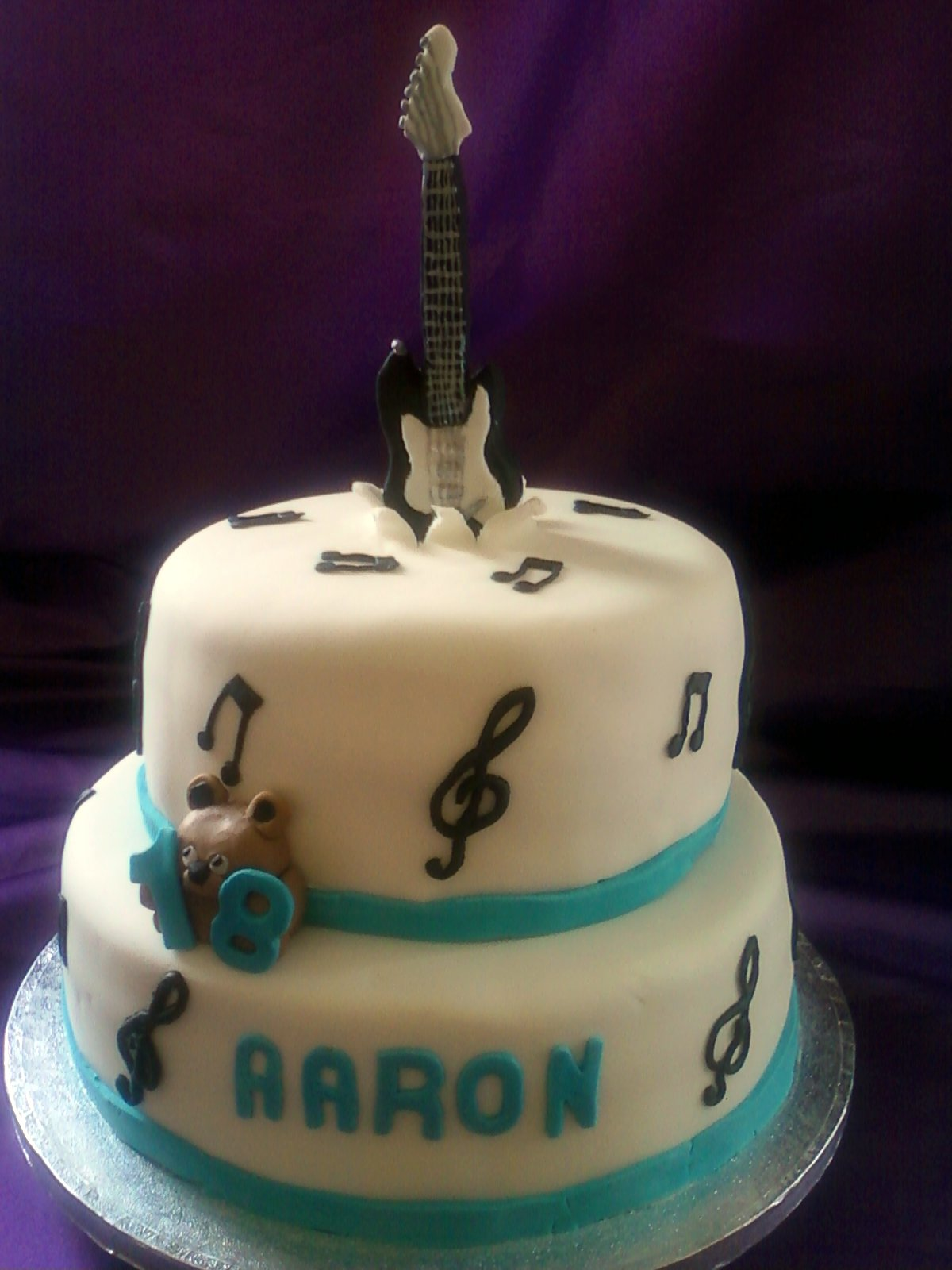 Guitar Cakes Decoration Ideas