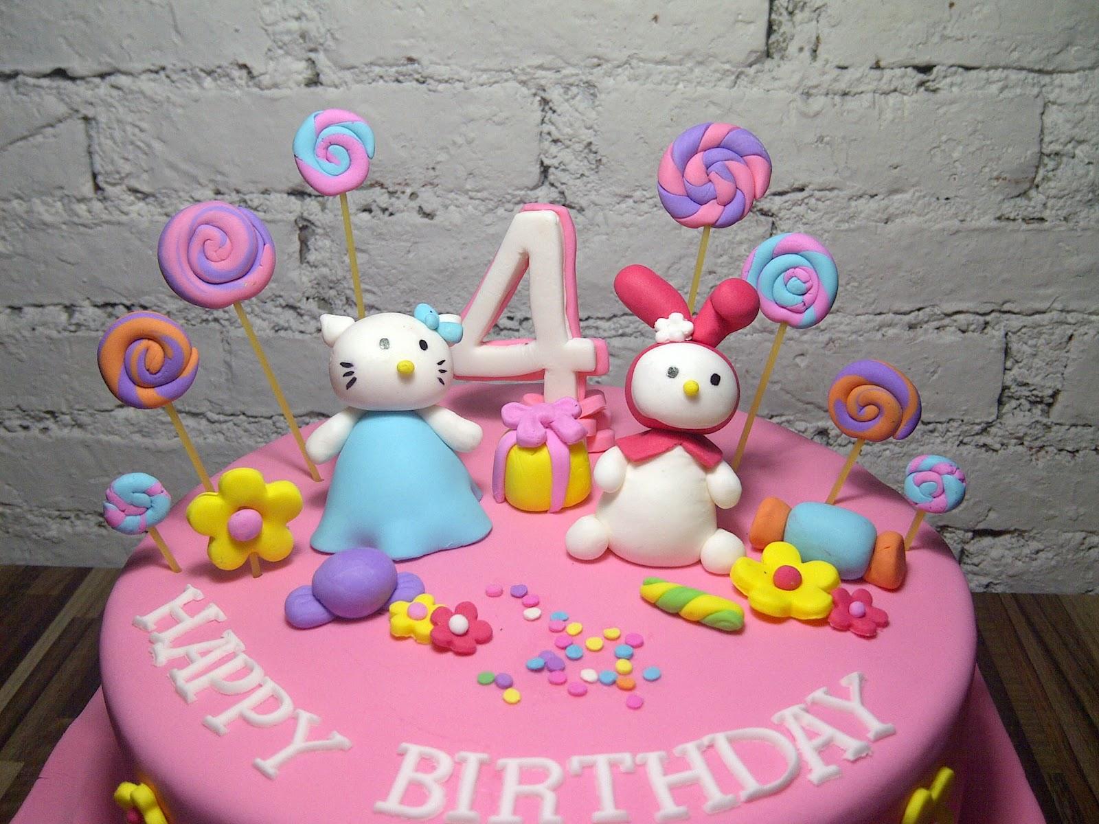 Hello Kitty Cakes Decoration Ideas
