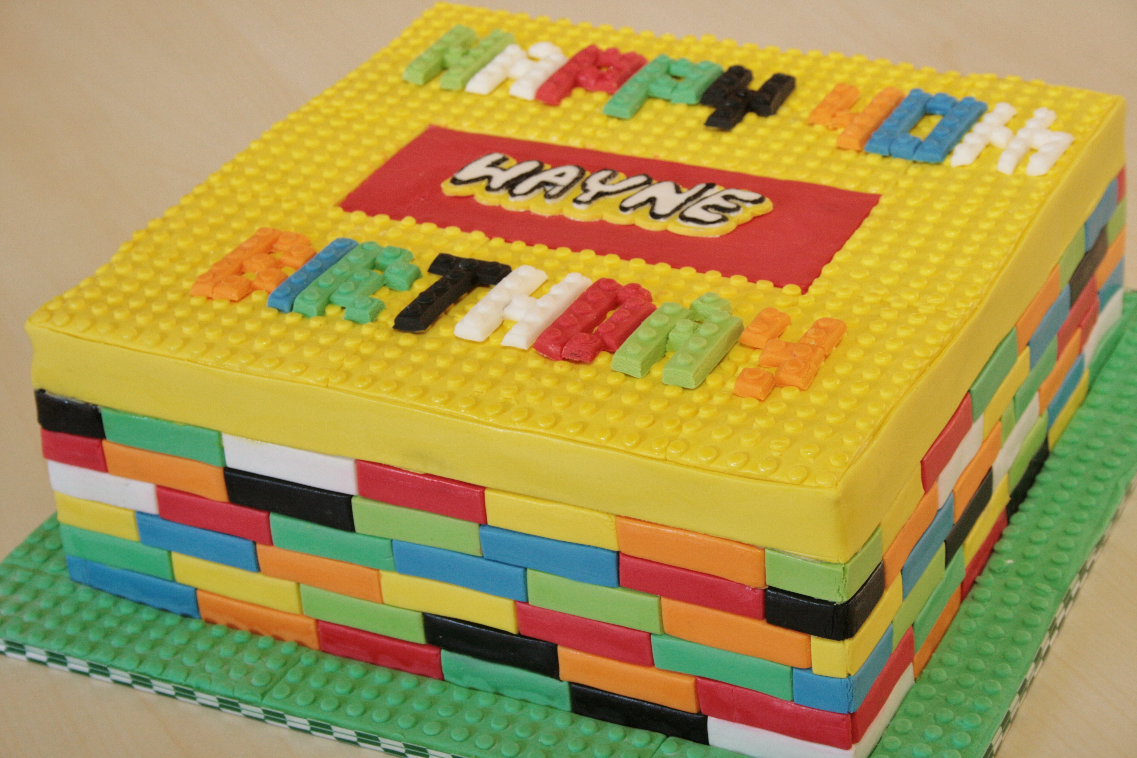 Lego Cakes Decoration Ideas