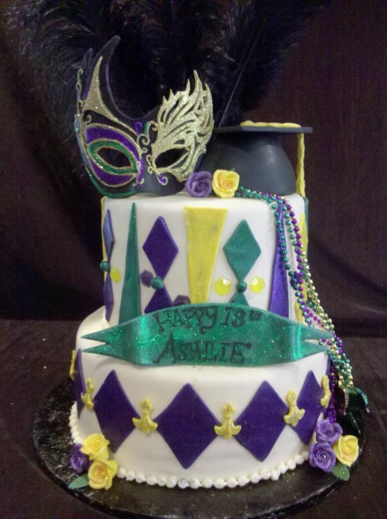 Mardi Gras Cakes Decoration Ideas Little Birthday Cakes
