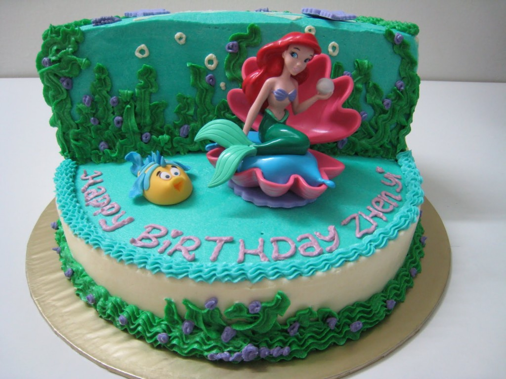 Mermaid Cakes Decoration Ideas