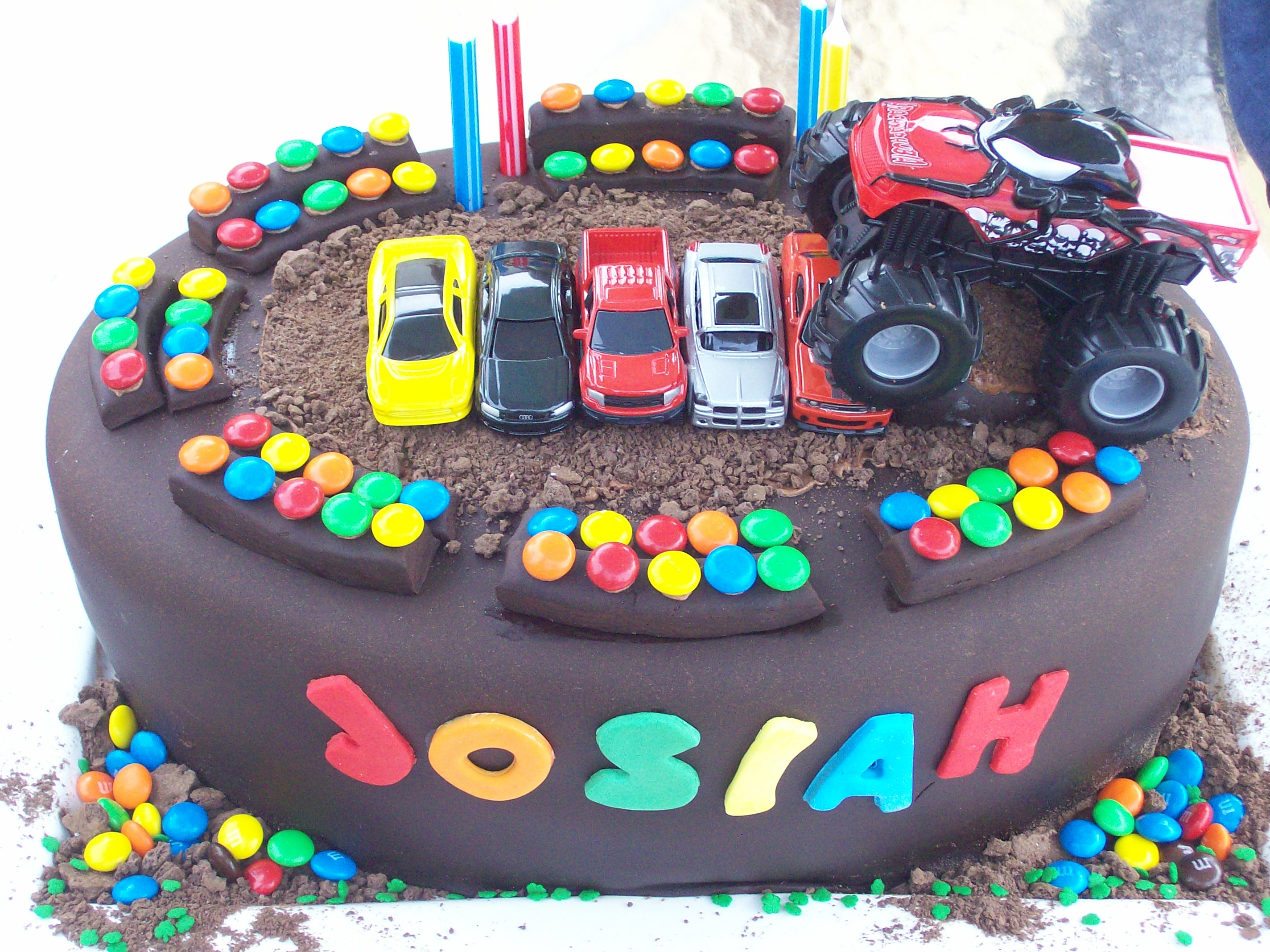 Monster Truck Cakes Decoration Ideas
