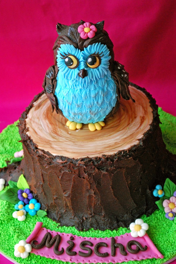 Owl Cakes Decoration Ideas Little Birthday Cakes