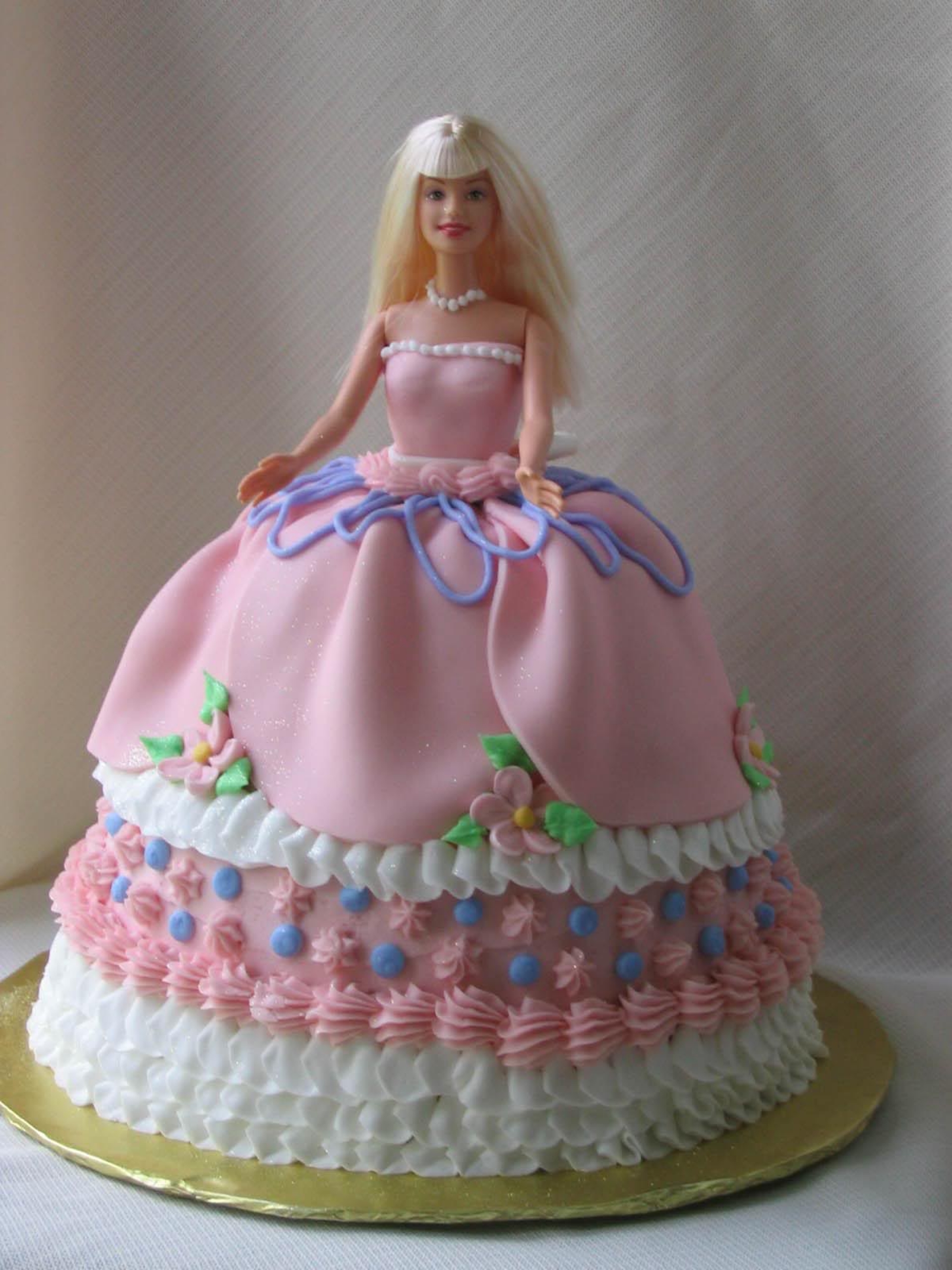 Barbie Cakes Decoration Ideas