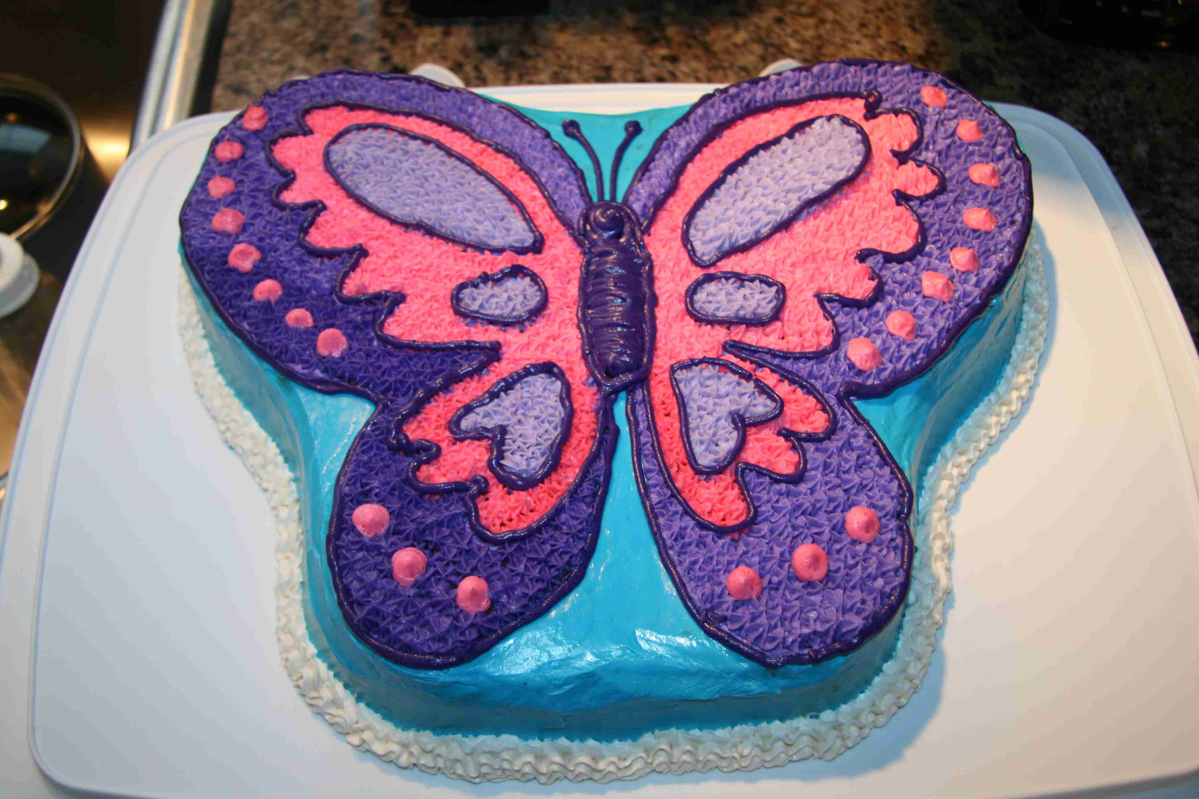 Butterfly Cakes     Decoration Ideas   Little Birthday Cakes Quinceanera Butterfly Cakes