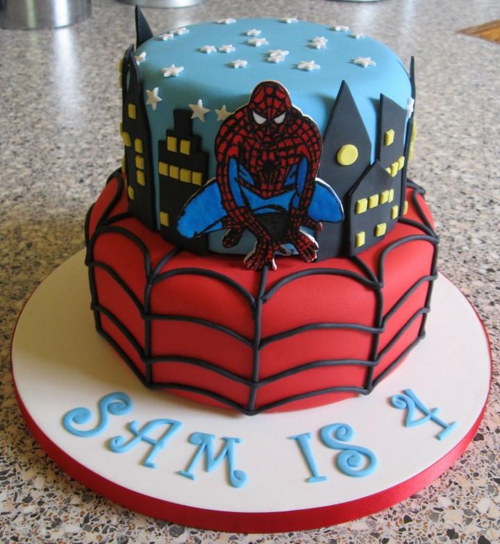 Spiderman Cakes Decoration Ideas Little Birthday