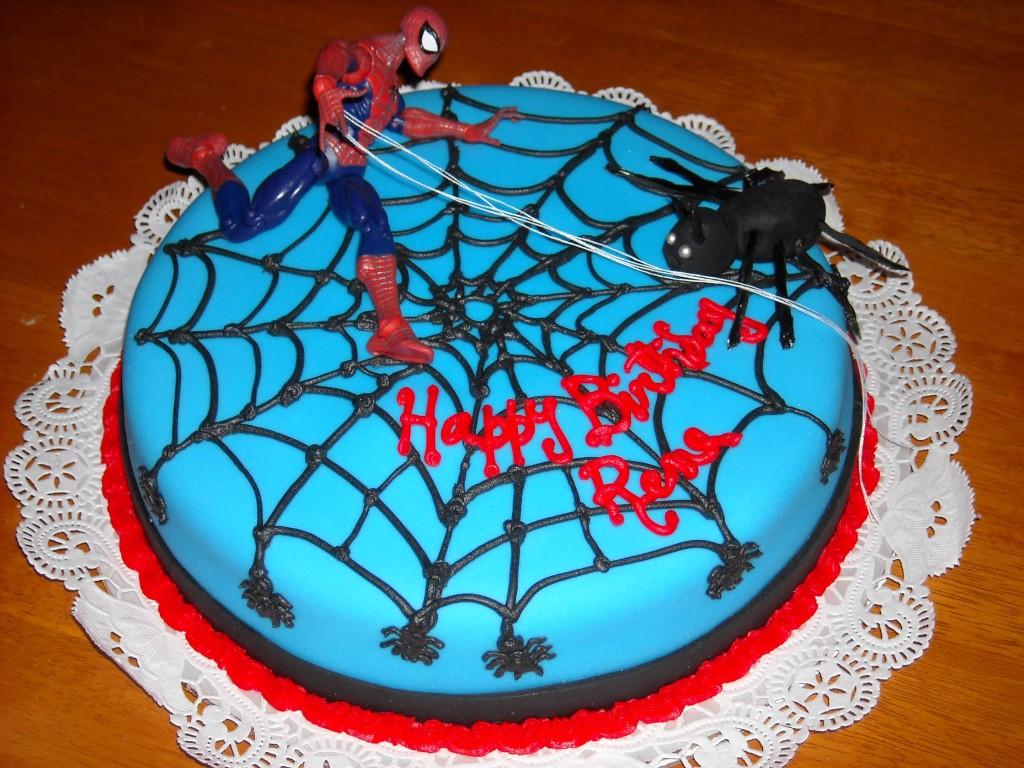 Spiderman Cakes Decoration Ideas