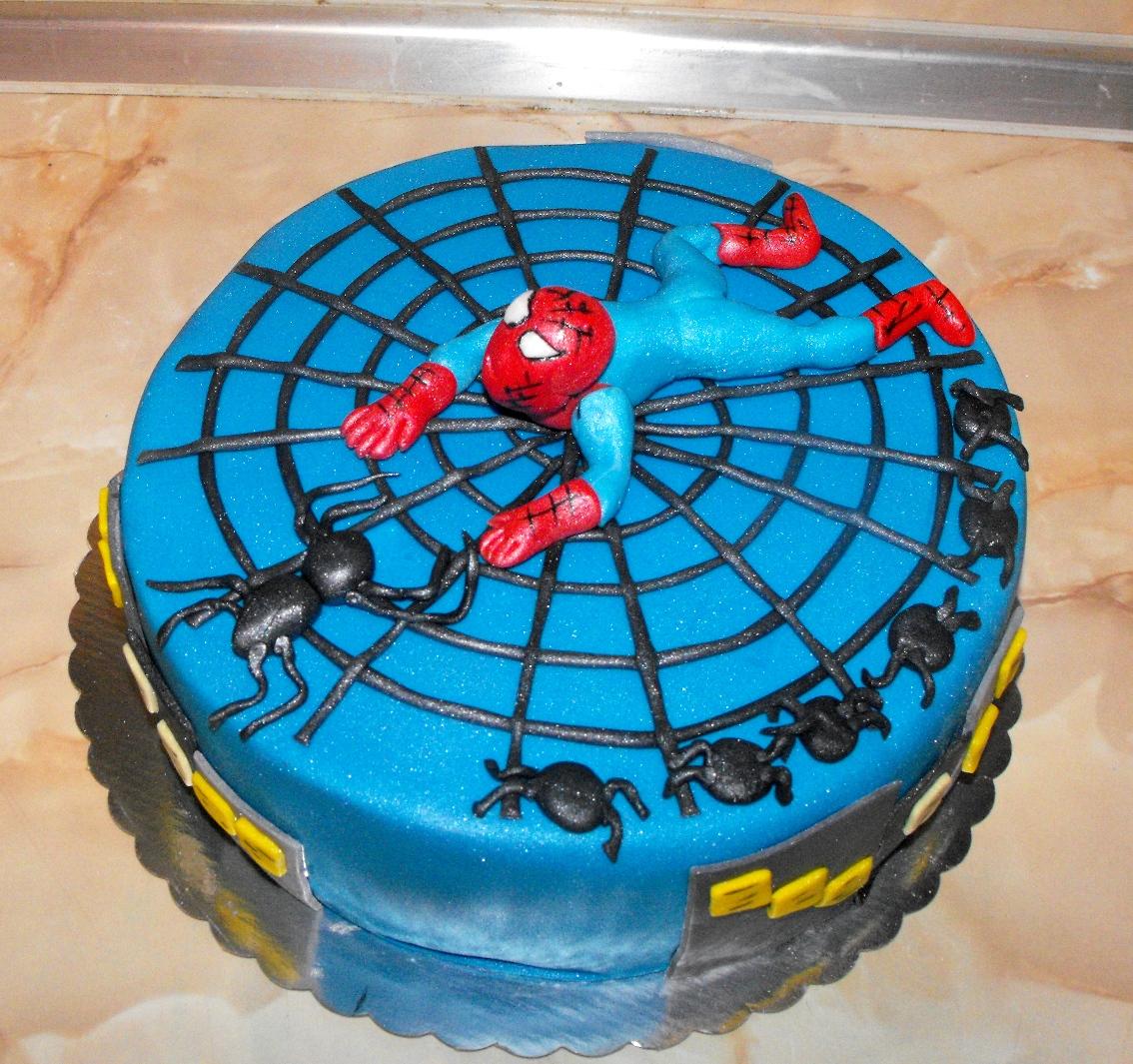 Spider Man Cake Designs