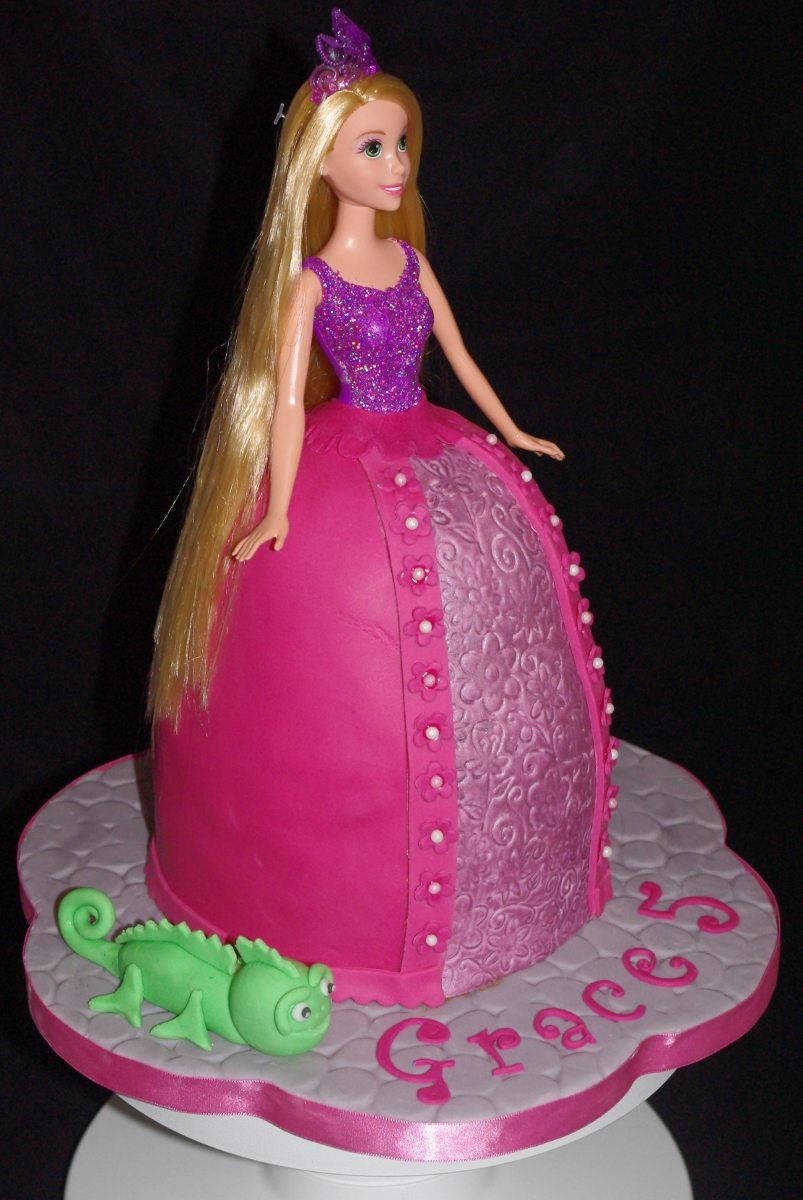 Rapunzel Cakes Decoration Ideas Little Birthday Cakes