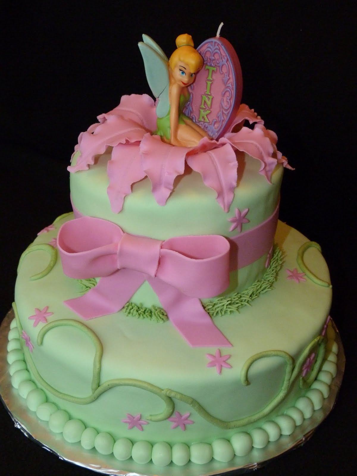 Tinkerbell Cakes Decoration Ideas