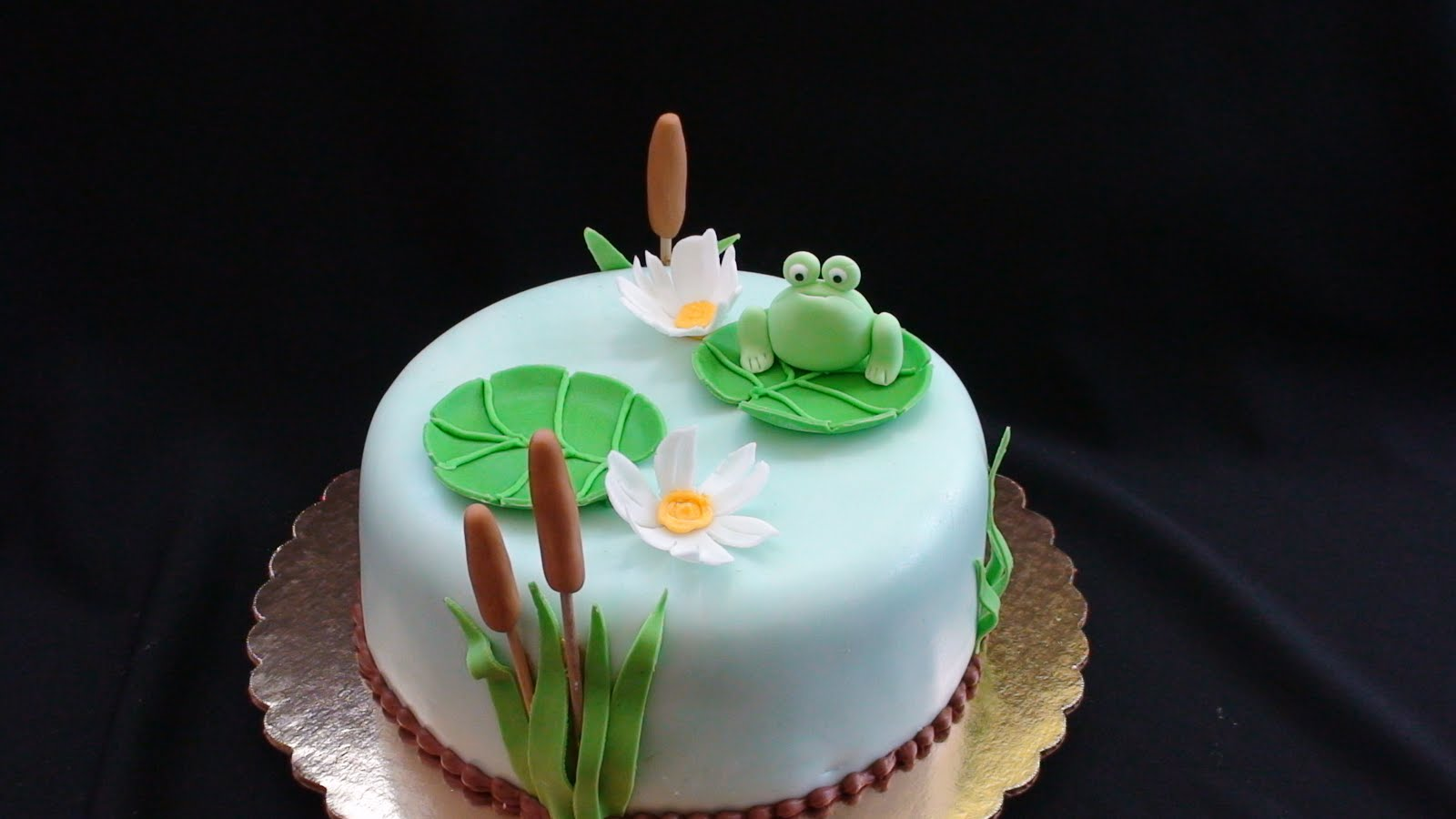 Frog Cakes Decoration Ideas