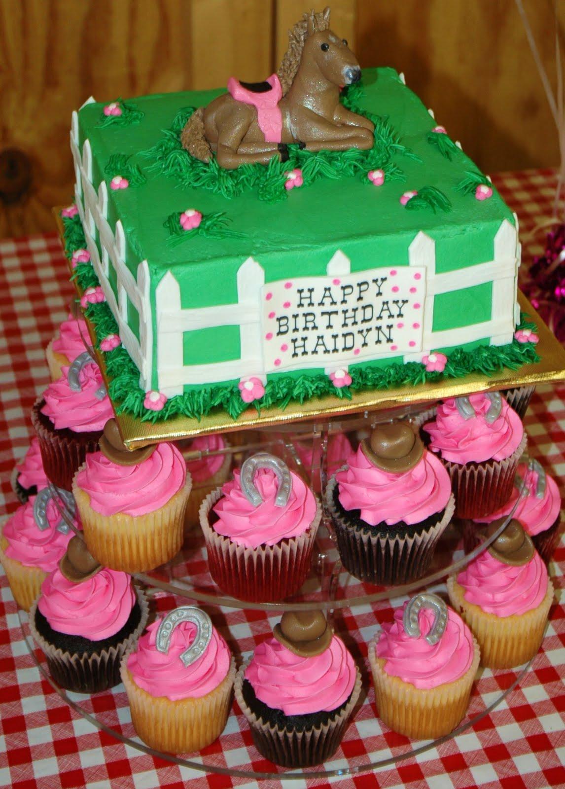 Horse Birthday Cakes Decoration Ideas Little Birthday