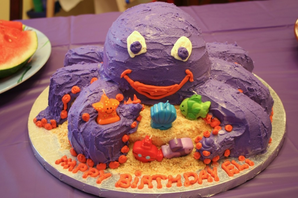 Octopus Cakes Decoration Ideas Little Birthday Cakes
