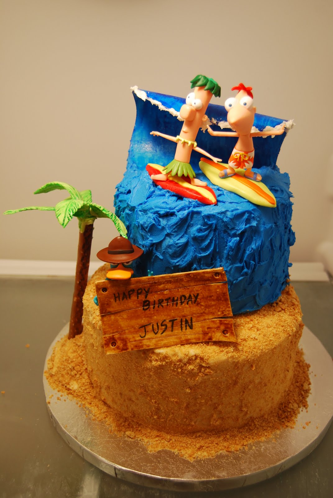 Phineas And Ferb Cakes Decoration Ideas