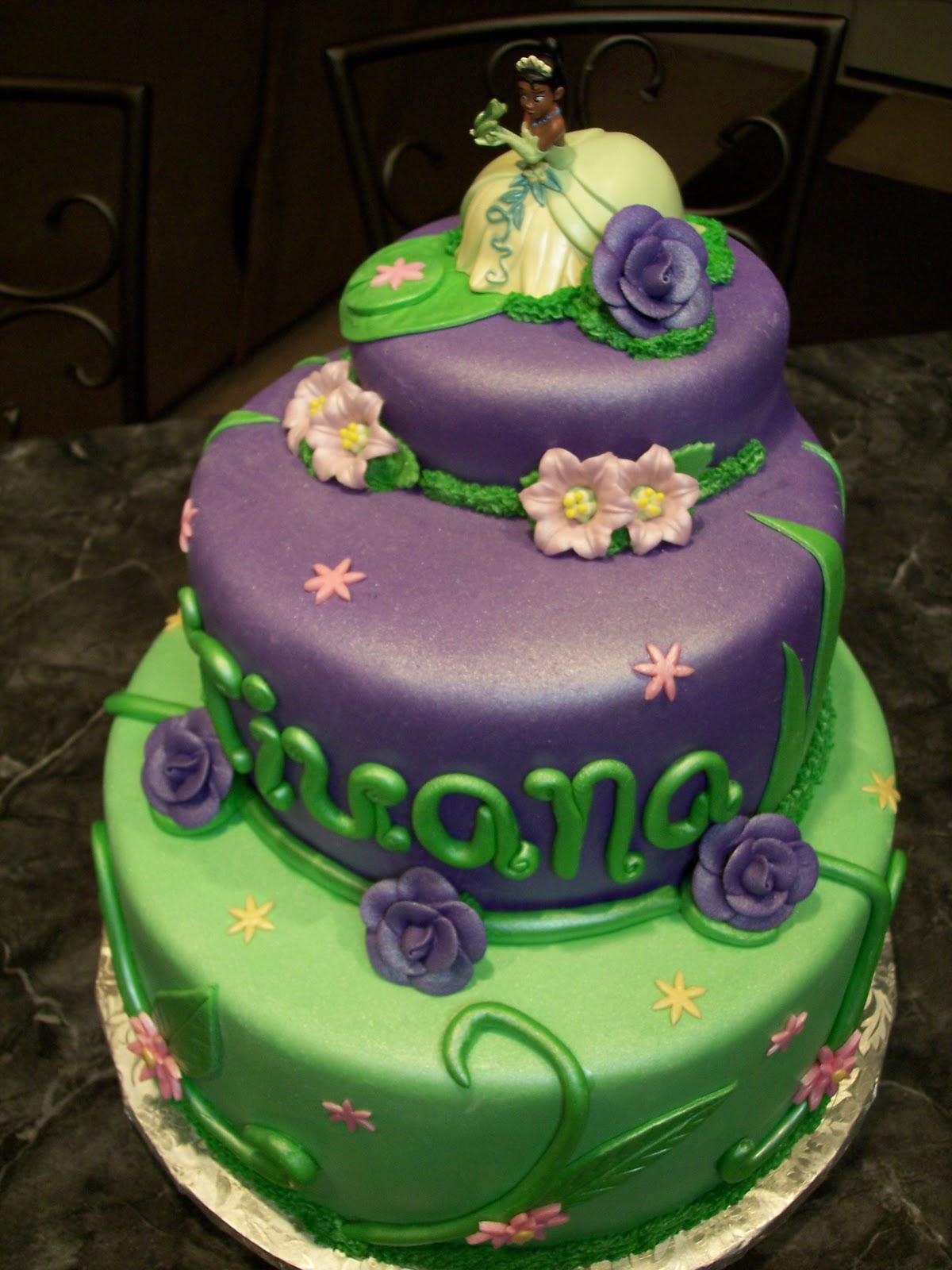 Princess Tiana Cakes Decoration Ideas