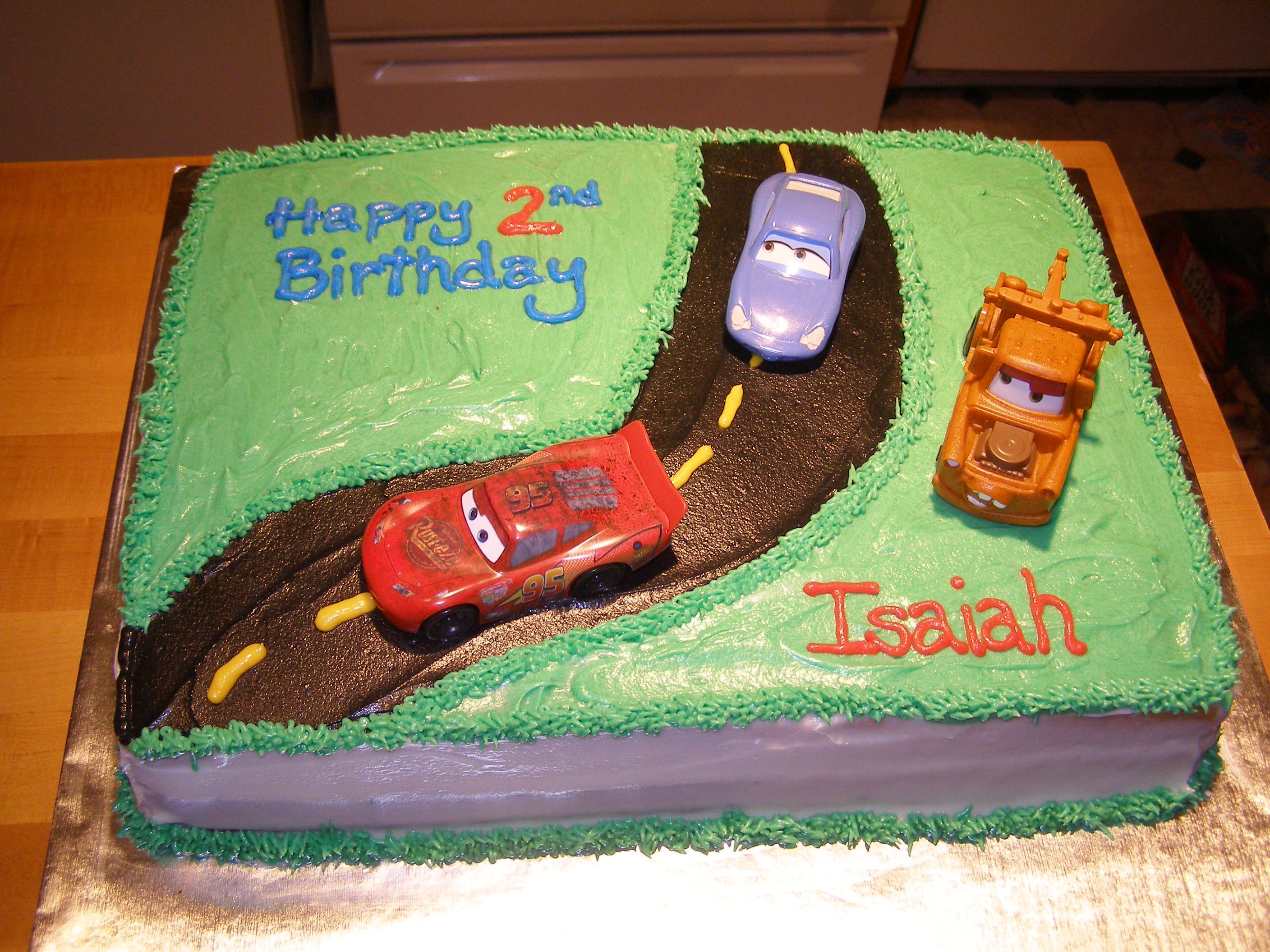 Place the 8 square cake on one side of the cake. Cars Cakes Decoration Ideas Little Birthday Cakes