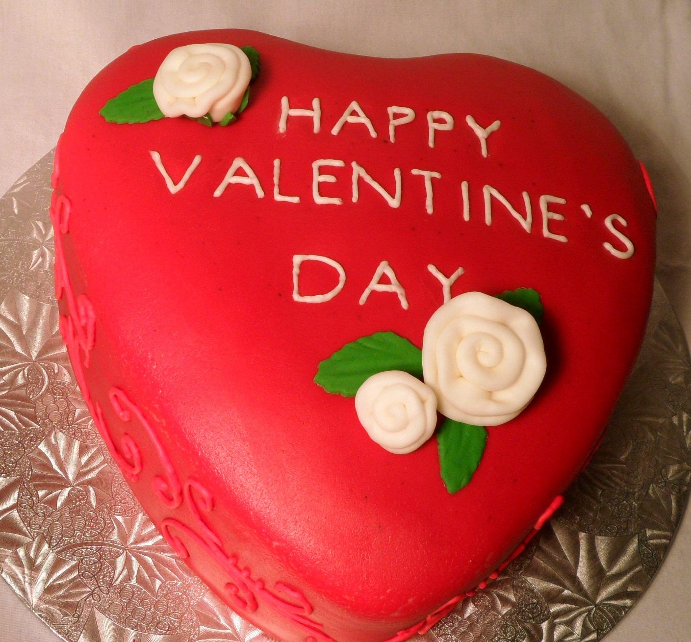 Valentines Cakes Decoration Ideas