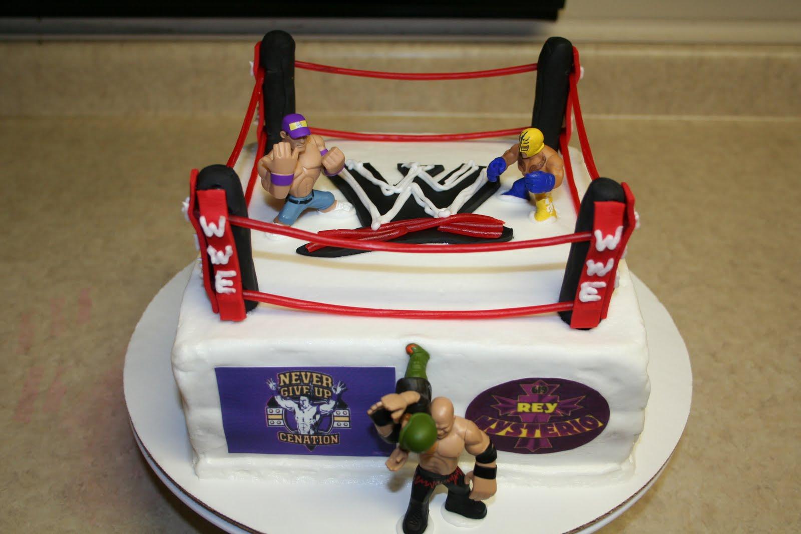 Wwe Cakes Decoration Ideas