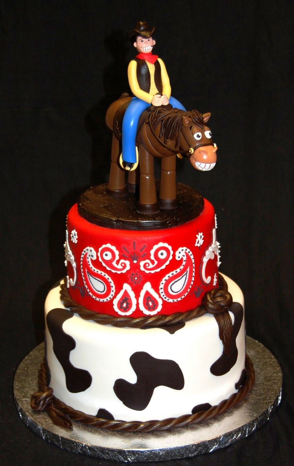 Cowboy Cakes Decoration Ideas Little Birthday Cakes
