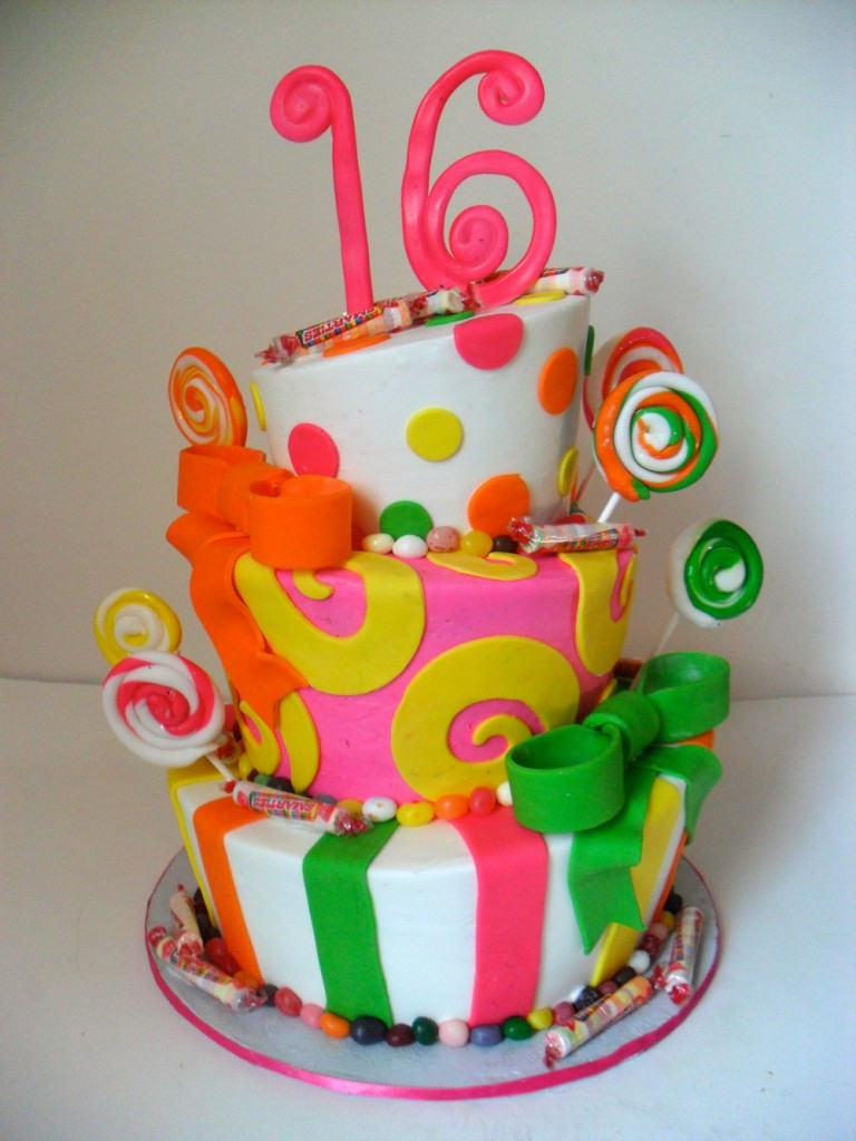 Sweet 16 Cakes Decoration Ideas Little Birthday Cakes