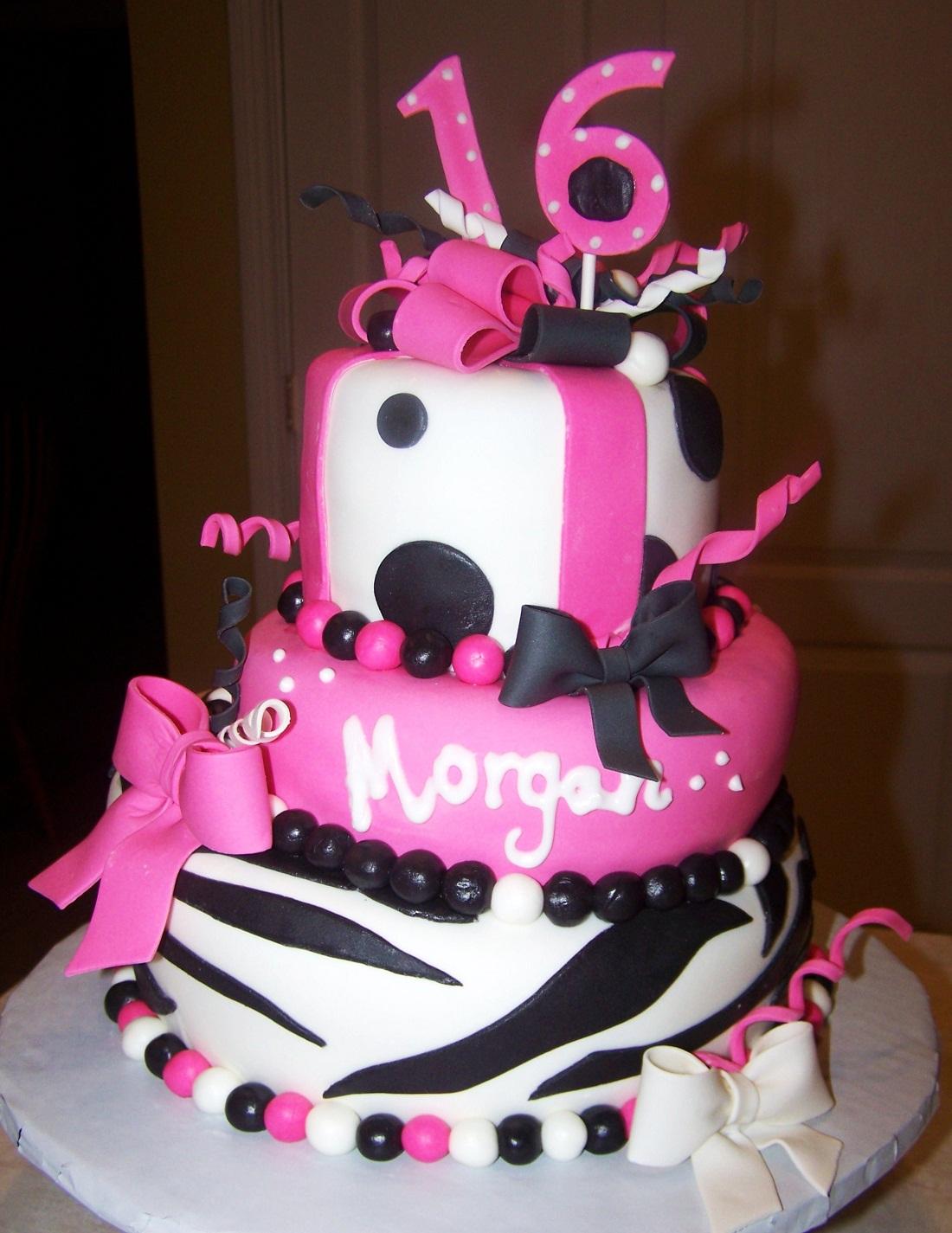 Sweet 16 Cakes Decoration Ideas
