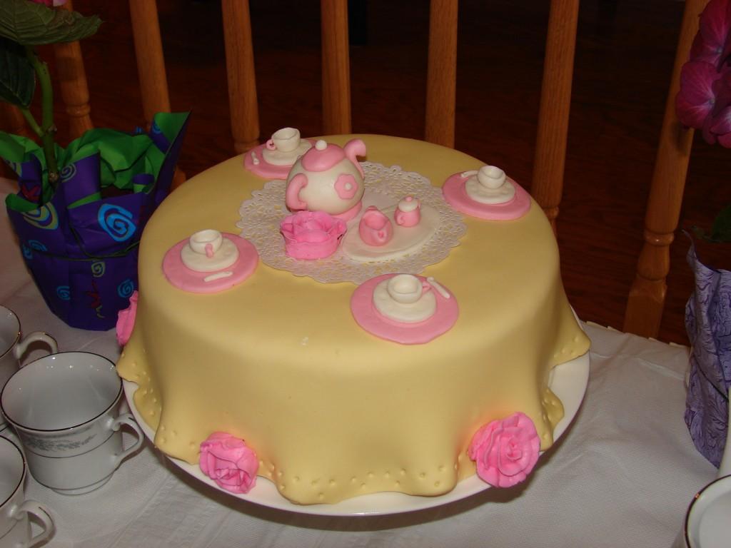 Tea Party Cakes Decoration Ideas