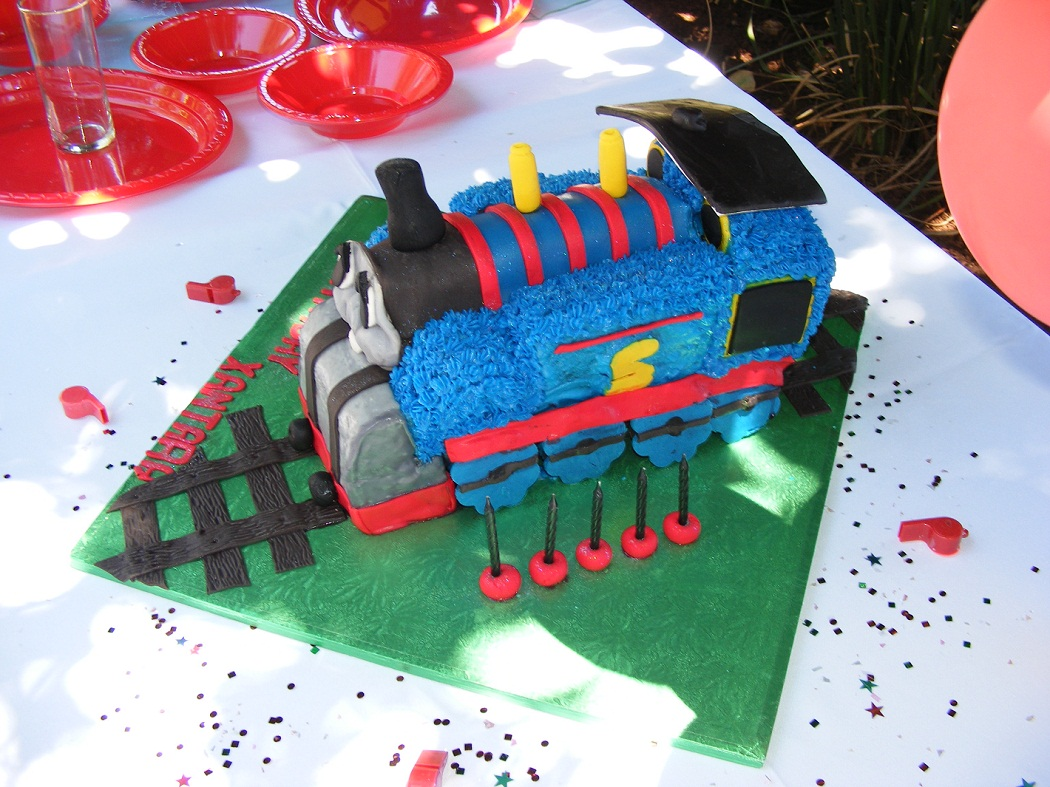 Thomas The Train Cakes Decoration Ideas Little