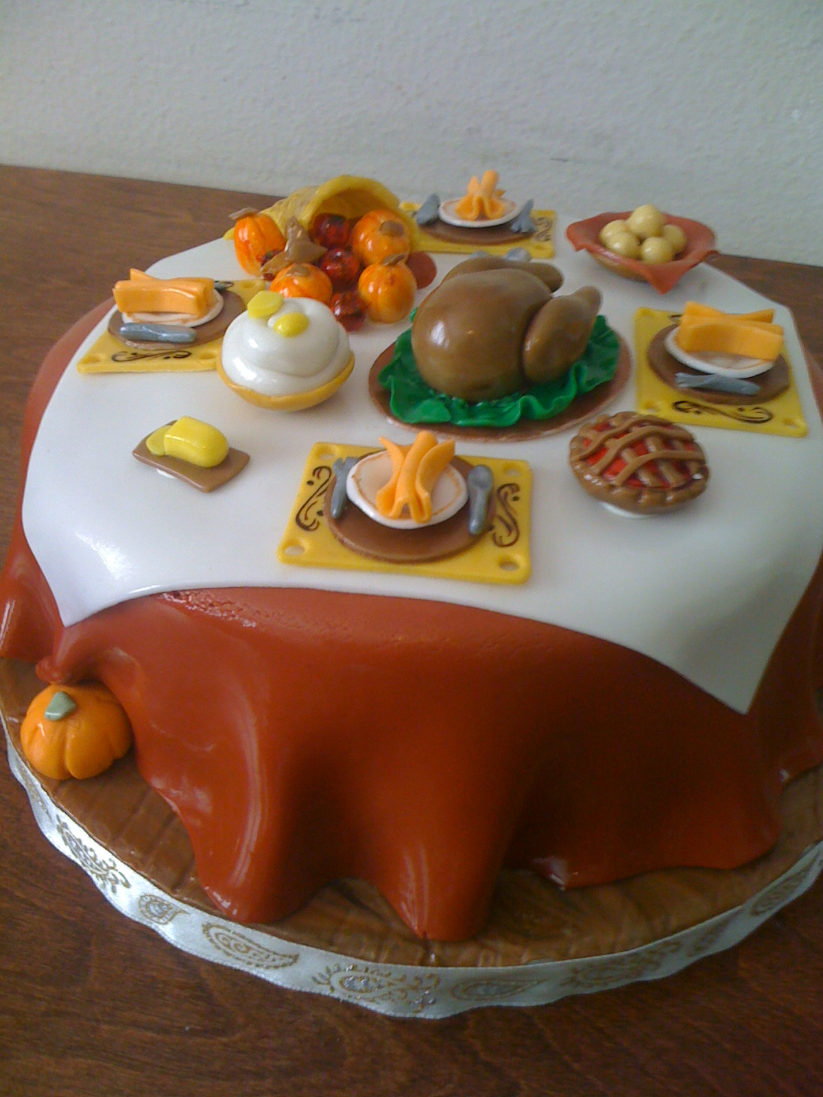 Thanksgiving Cakes     Decoration Ideas   Little Birthday Cakes Cake For Thanksgiving