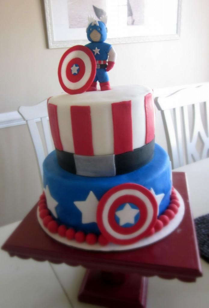 Captain America Cakes Decoration Ideas Little Birthday