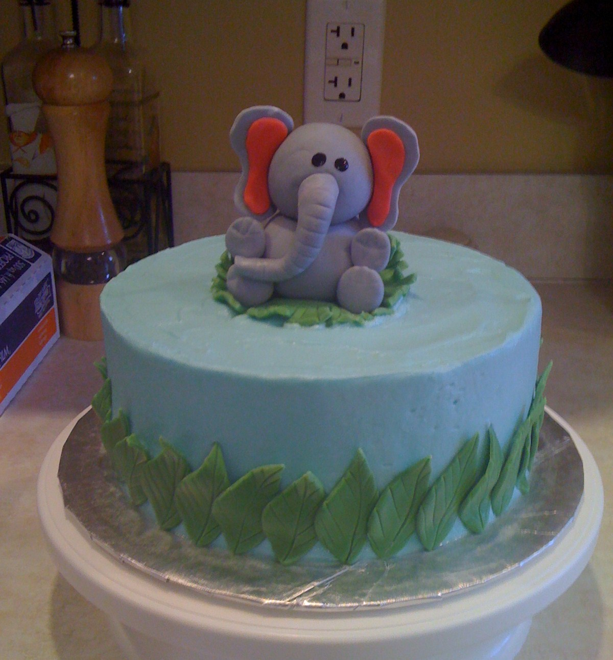 Elephant Cakes Decoration Ideas