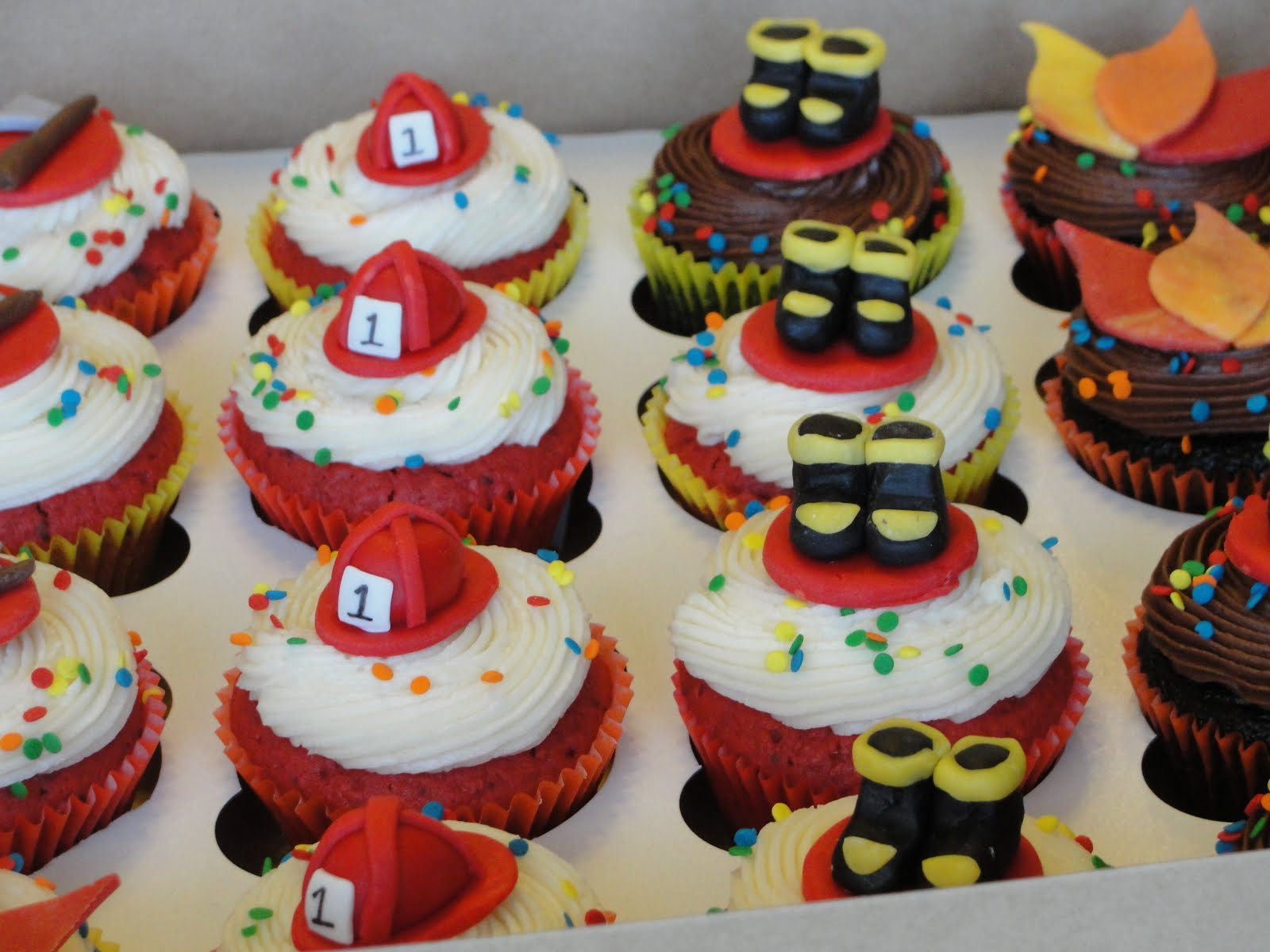 Fireman Cakes Decoration Ideas