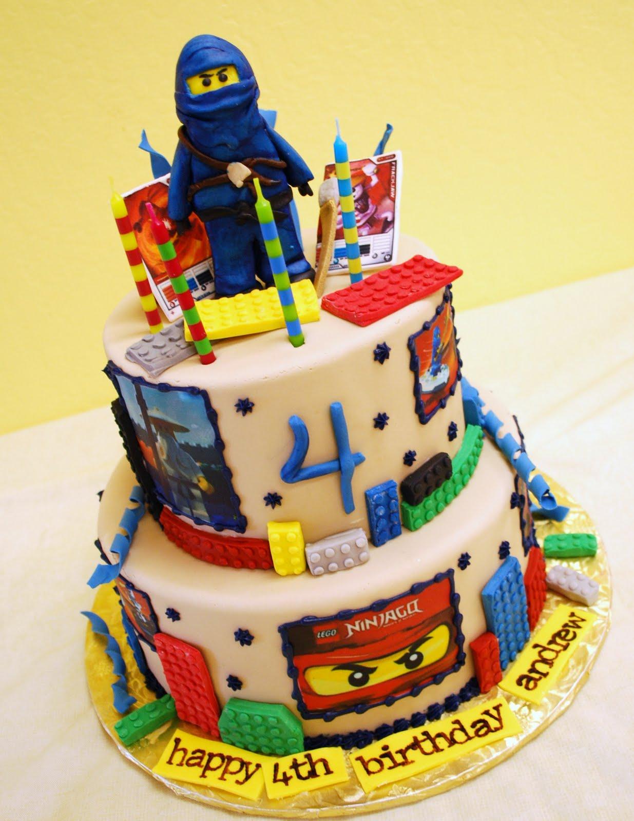 Ninjago Cakes Decoration Ideas