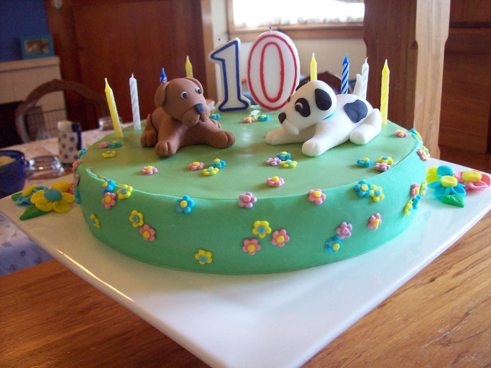 Puppy Cakes Decoration Ideas