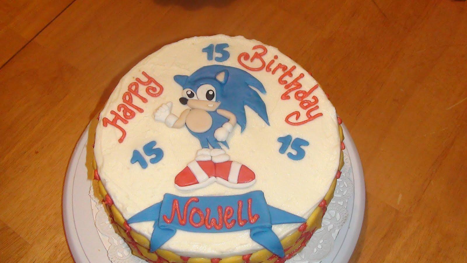 Sonic Cakes Decoration Ideas Little Birthday Cakes